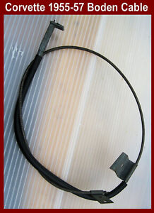 Corvette-1953-1955-1956-Windshield-Washer-Boden-Cable-1957-for-foot-pump-red-top