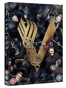 VIKINGS season 5 volume/part 1 region 2 NEW DVD Free and Fast Dispatch 5039036087513