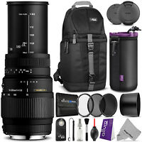 Sigma 70-300mm F/4-5.6 Dg Macro Lens For Nikon D5300 D5200 D3300 D3200 D3100
