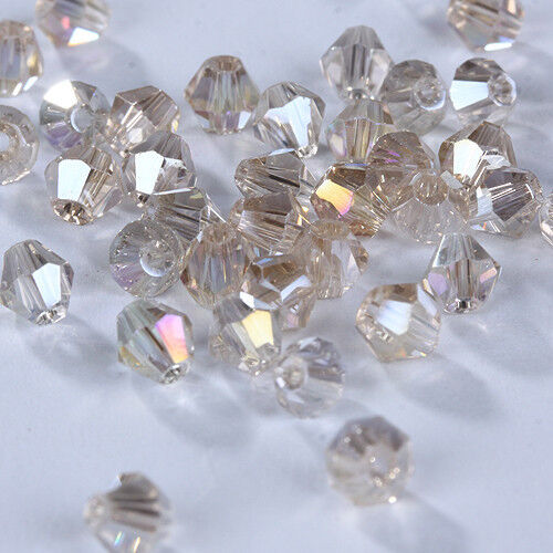 Free Shipping DIY Jewelry 500pcs 3mm Glass Crystal #5301 Bicone beads U Pick