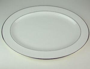 16-034-Oval-Serving-Platter-Royal-Doulton-Signet-H4974-bone-china-England