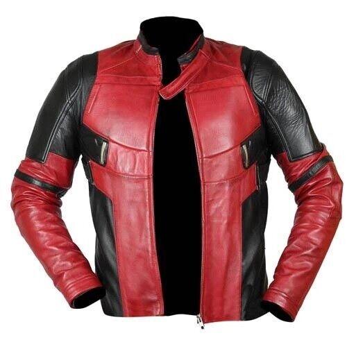 Dead-pool Leather Jacket