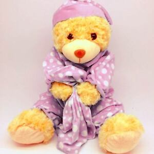 Teddy-Bear-Plush-Pink-Animal-Baby-Girls-New-Born-Gift-1st-Birthday-Child-Infant