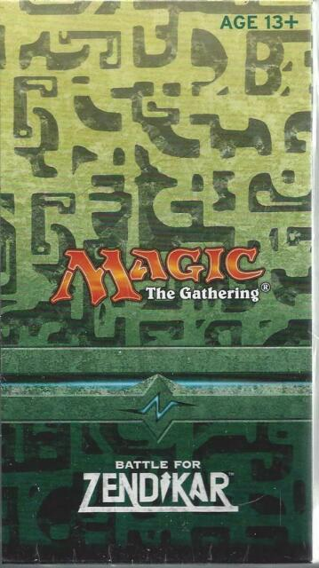 MTG Battle For Zendikar Prerelease Kit Sealed Magic the Gathering