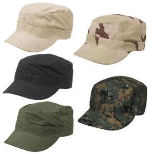 e5a1ef20db1 1x Men Cap Army Hat Cadet Castro Military Patrol Baseball Summer ...