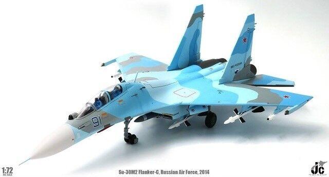 JC vingeS JCW72SU30003 –1  72 SU -30M2 FLANKER -C RUSSIAN AIR FORCE 2014