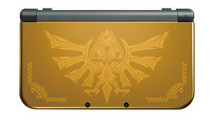 New-Nintendo-3DS-XL-Console-Hyrule-Edition-PAL-NEW-Warranty