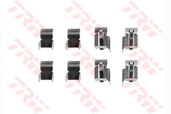 TRW PFK218 Accessoire Kit Plaquettes Disque de Frein Avant