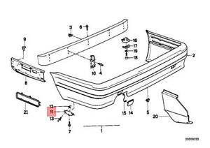 Genuine BMW E30 316 316i 318i 318is 320i 320is 324d Guide Left 51122239847