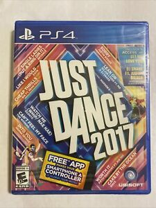 Just Dance 2017 (Sony PlayStation 4, PS4) Factory Sealed Free Shipping