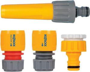 Hozelock-Kit-2355-Boquilla-Y-Accesorios-Starter-Set-tocar-y-adaptador-de-la-manguera-de-tuberia