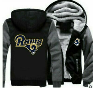 Official Los Angeles Rams Jackets, Winter Coats, Rams