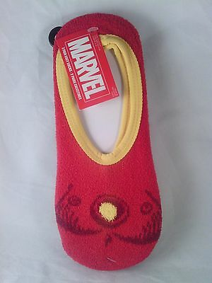 Size 9-11 Marvel Iron Man Womens 2 Pair Cozy Slipper Socks