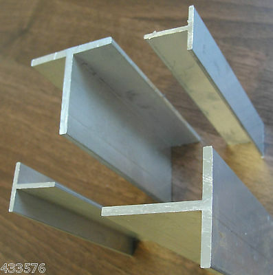 "3/4"" x 3/4""x 1/8"" Aluminium T Section   Lengths 250 - 600 mm"