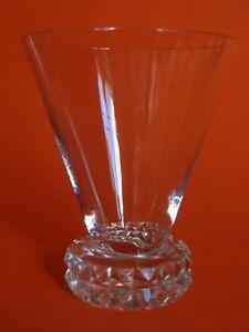1 Ancien Verre A Aperitif Art Deco Cristal St Louis Modele Diamant Ht 7,5 Cm Saveur Aromatique