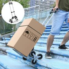 Transport Trolley Foldable Luggage Stair Climbing Hand Truck Telescoping Bas1