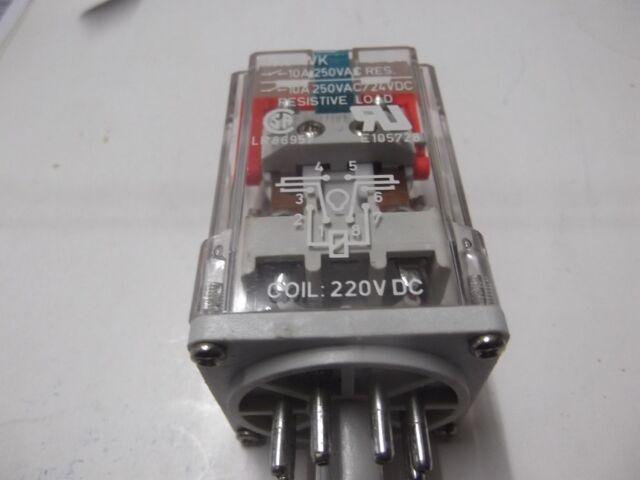 10 Stück Relpol Relais R 15-1012-23-1220WK