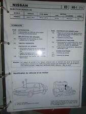 Nissan PRIMERA 2000 D SLX : diagnostic réglage injection Publitest NIS-1