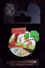 DISNEY 75TH ANNIVERSARY FLOWERS & TREES LIMITED 1000 PIN AROUND THE WORLD 2007