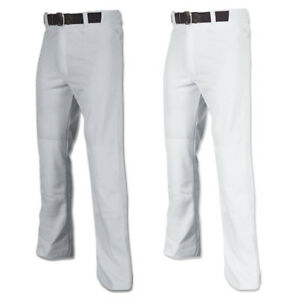 Champro-MVP-Open-Bottom-Relaxed-Fit-Youth-Baseball-Pant-Grey-amp-White