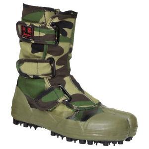 Asagiri Pleasant To The Palate Work Boots Devoted Tabi Camo Ninja Boots Sokaido: Spike Forestry Shoes