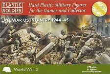 1/72ND LATE WAR US INFANTRY - PLASTIC SOLDIER COMPANY - WW2 1/72 20MM AMERICAN