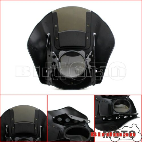 Motorcycle Quarter Head Fairing Smoke Windshield For Harley Dyna Sportster XL