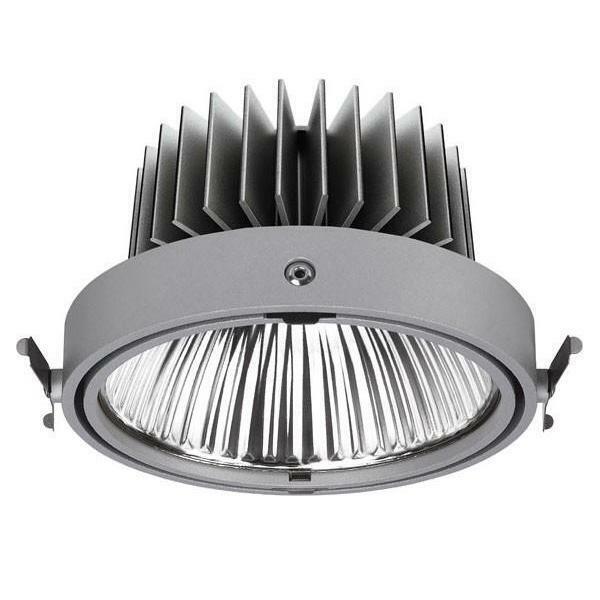 LTS Licht&Leuchten LED-Einbaustrahler SCEKLP 33.2040.15 si IP20 Licht&Leuchten
