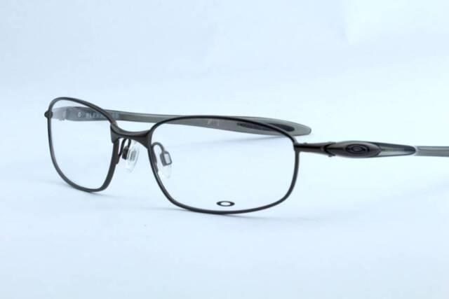 77fe5b062b0 Oakley Blender 6b Ox3162-0155 Pewter Eyeglasses Frame 55mm Authentic ...