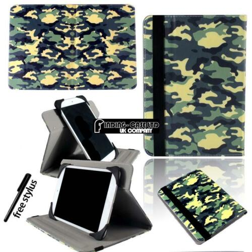 SUPPORTO Folio in Pelle Rotazione Cover per vari 79 80 97 101 tablet Archos