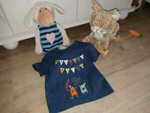 Sigikid-Shirt-Monster-Party-Gr-68-neu