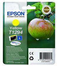 Epson T1294 Original Yellow Ink Cartridge for Stylus SX440w SX438w SX430w SX445w