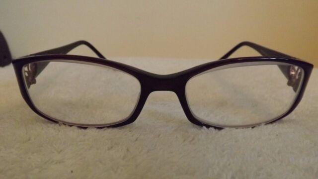 5c23167d94f Elegant Celine Dion Frames for Glasses CD7055 Plum With Diamante for ...