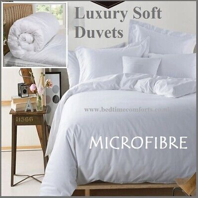 """DOUBLE 4/'6/"""" /""""CASH SAVER/"""" COROVIN DUVET QUILT Hollow Fibre All Size and Togs 15.0"""