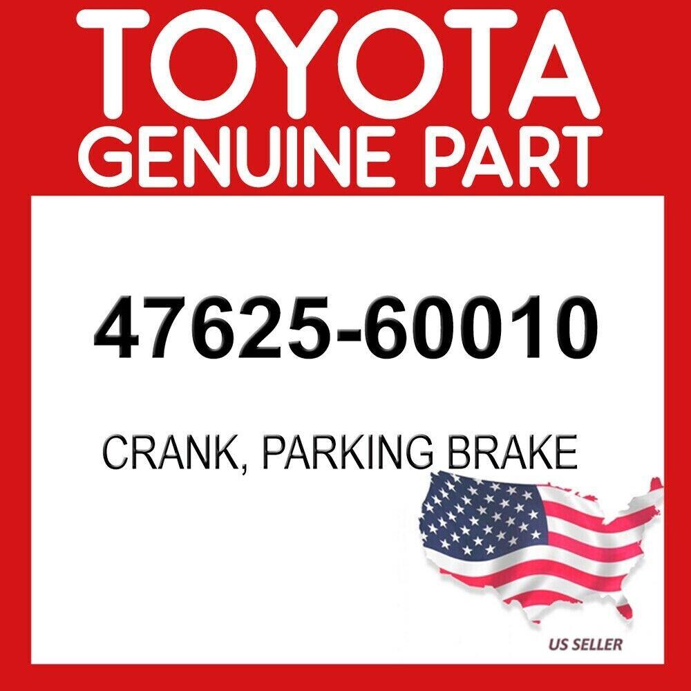 LH 47625-60010 PARKING BRAKE BELL 4762560010 Genuine Toyota CRANK