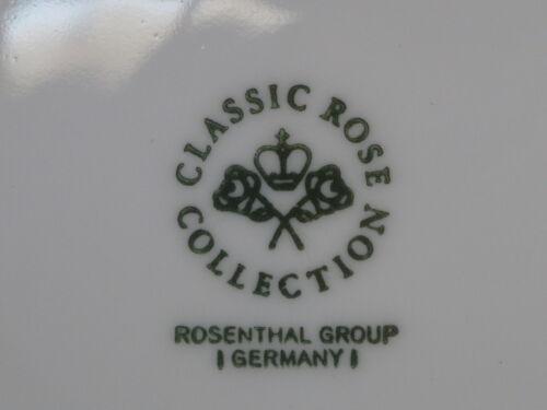 Rosenthal AIDA Kobalt-Blau Kaffeetasse mit Untertasse 5381 Golddekor