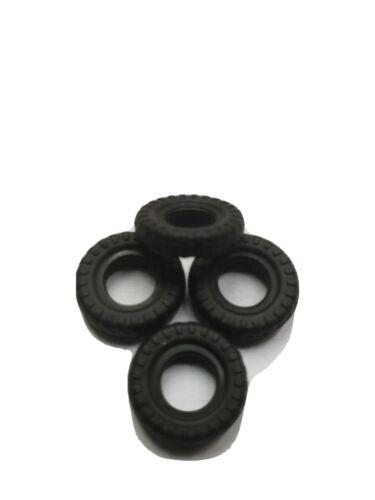 """Dinky Toys 106 /""""el prisionero/"""" Mini Moke Neumáticos Conjunto de 4 Nuevo"""
