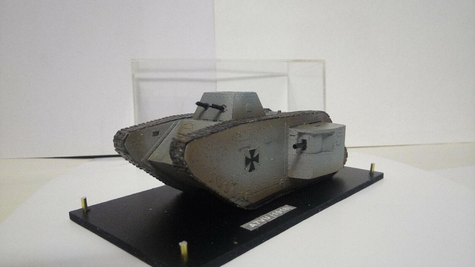popular Char allemand allemand allemand  A7VU  1918 (1 72)   resine  Entrega directa y rápida de fábrica