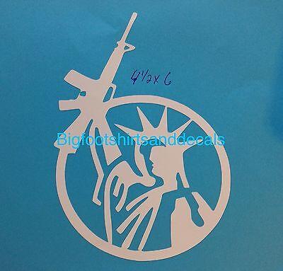 Libertas Car Laptop Bumper Window Vinyl Decal Sticker 10302 Statue of Liberty