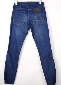 Wrangler Hommes Greensboro Droit Slim Jeans Extensible Taille W32 L34 BDZ1015