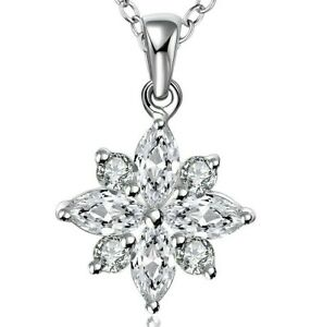 1-ct-Created-White-Sapphire-Snowflake-Pendant-in-18K-White-Gold-Plated