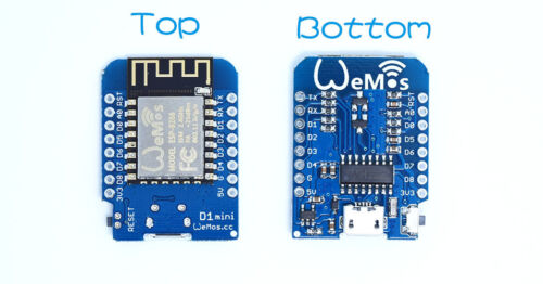 D1 Mini NodeMcu 4M bytes Lua WIFI Development Board ESP8266 by WeMos Fad SU