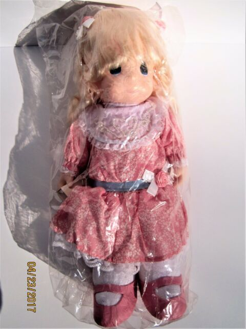 "Vintage 1994 NEW old stock never used Precious Moments 16/"" Doll Courtney Pink"