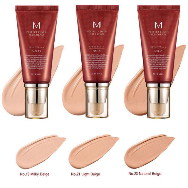 Missha M Perfect Cover BB Cream Blemish Balm SPF42 PA+++ 50ml