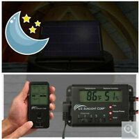 Solar Controller For Solar Attic Fans Electronic Thermostat & Humidistat