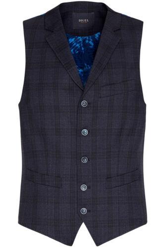 Digel fantasia Gilet Fashion A in lana Galles Di Stretching Principe Panciotto Blu EBwwYaq
