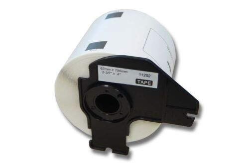 ENDLOS  ETIKETTEN 62mm x 30.48m STANDARD für BROTHER P-touch DK-22205