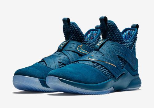 Nike lebron Uomo soldato xii sfg agimat Uomo lebron ao4054-400 blu egeo scarpe taglia 10 f01e09