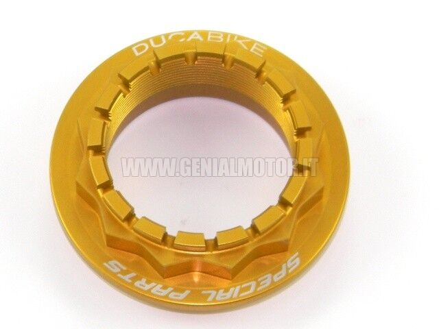DUCABIKE DPR02B REAR WHEEL NUT GOLD