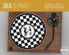 "Ska 2 Tone Turntable Slipmat - 12"" LP Record Player, Checkerboard DJ Slipmat"
